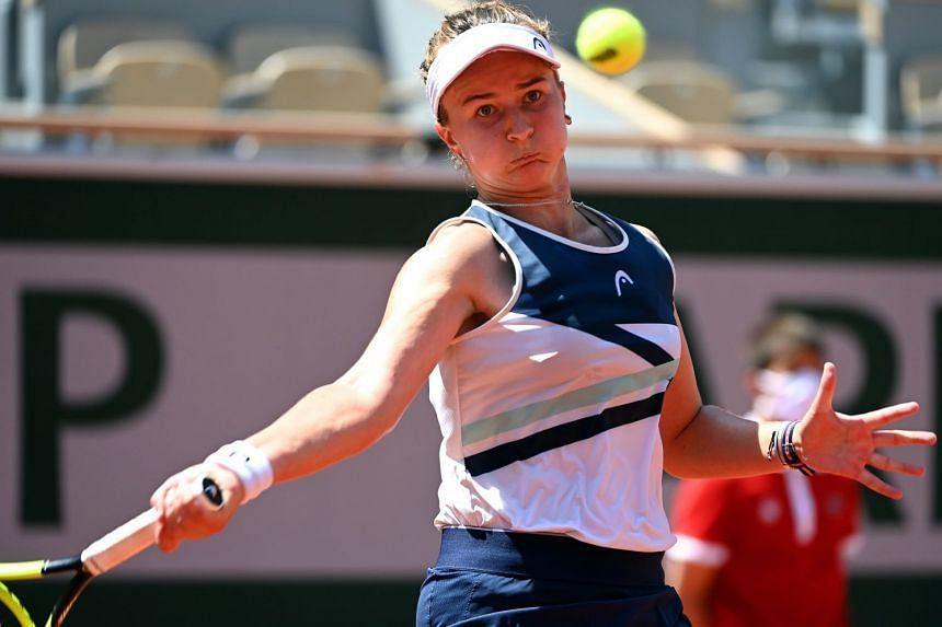 Barbora Krejcikova thinks her late coach Jana Novotna would be very proud of her French Open semi-final achievement.