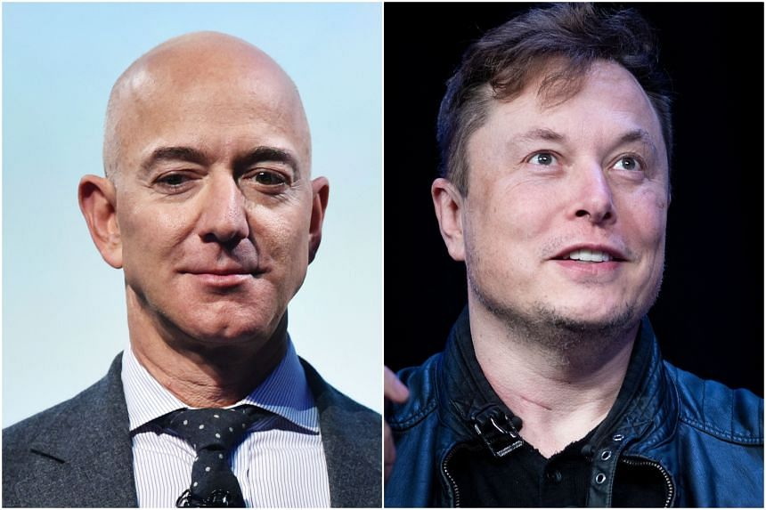Amazon Chairman Jeff Bezos (left) paid no income tax in 2007 and 2011, while Tesla chief Elon Musk avoided all payments in 2018.