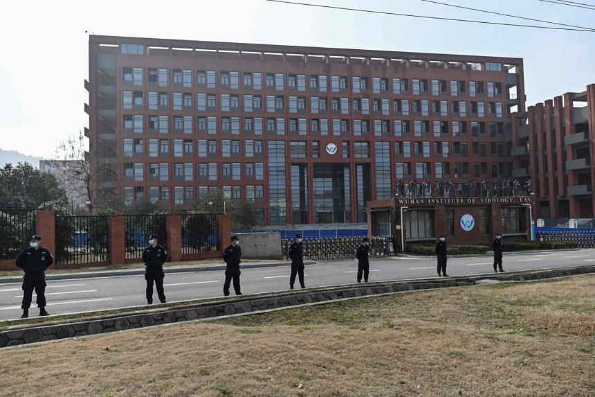 A February photo of the Wuhan Institute of Virology in China, during a visit by a WHO team investigating the origins of Covid-19. PHOTO: AGENCE FRANCE-PRESSE