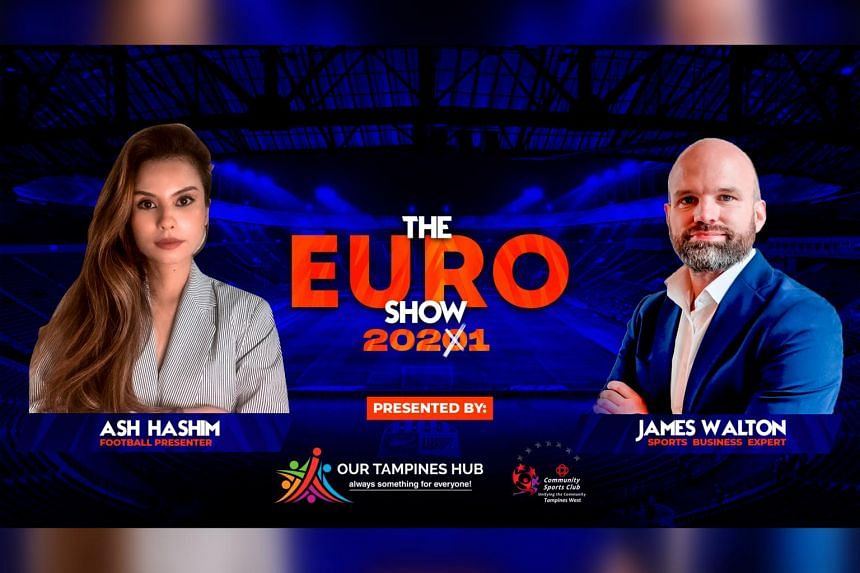 The show will be broadcast on the Facebook pages of the Euro 2020 show, Our Tampines Hub and Tampines West CSC.