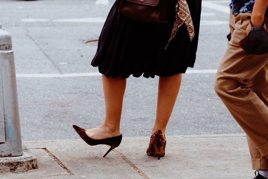 High-heeled shoes were at the point of flatlining, industry pundits fretted, teetering on the edge of extinction.