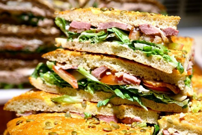 Swissbake's cafe concept Kraftwich offers handcrafted sandwiches from $8.90.