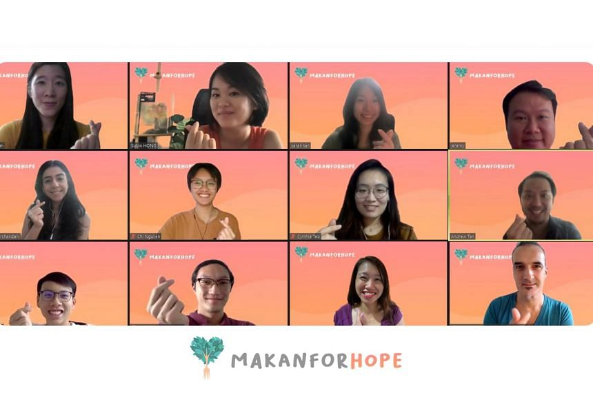 The Makan for Hope Festival organising team.