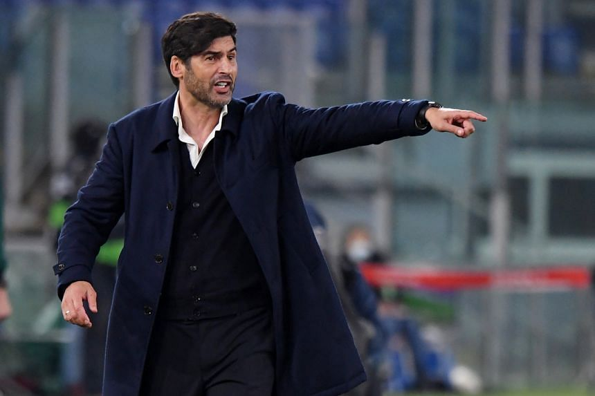 Paulo Fonseca (pictured) will fill the vacancy on a full-time basis and replace his compatriot Jose Mourinho.