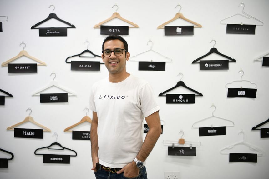 """Pixibo co-founder Rohit Kumar says his concept addresses the problem of """"low conversion rates and high returns rates""""."""