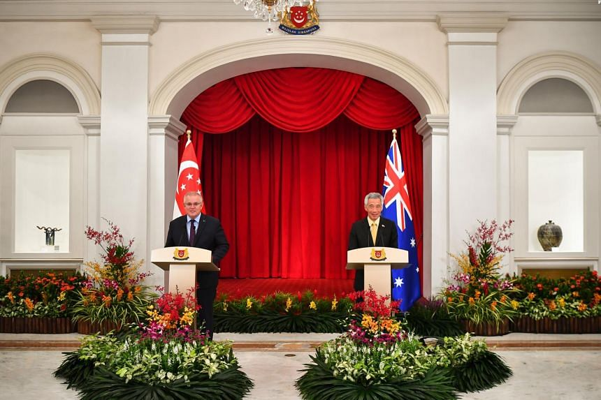Prime Minister Lee Hsien Loong and his Australian counterpart Scott Morrison reaffirmed the excellent state of bilateral relations between the two nations.