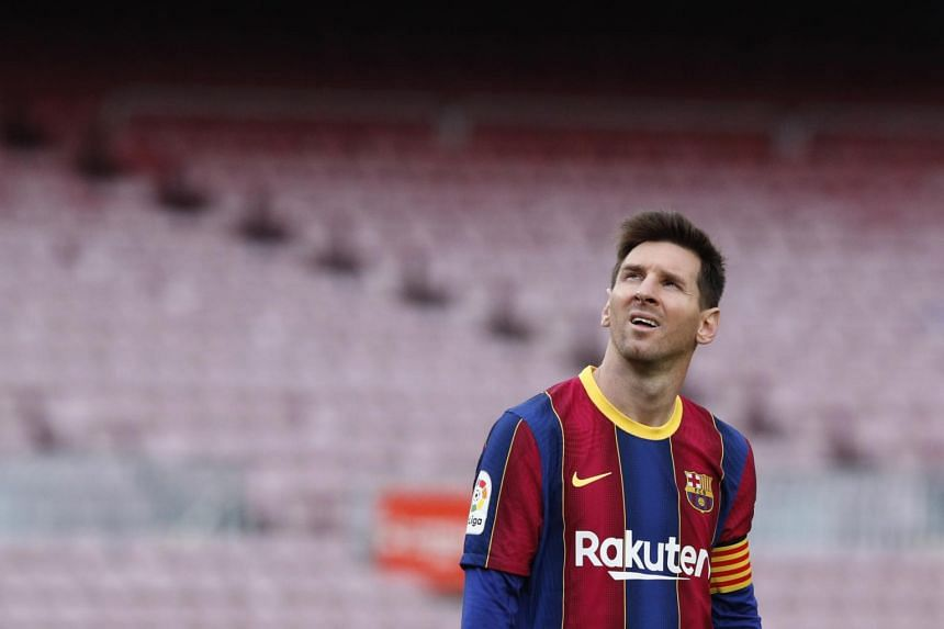 Speculation about Messi's future has intensified with the 33-year-old out of contract with Barcelona at the end of this month.