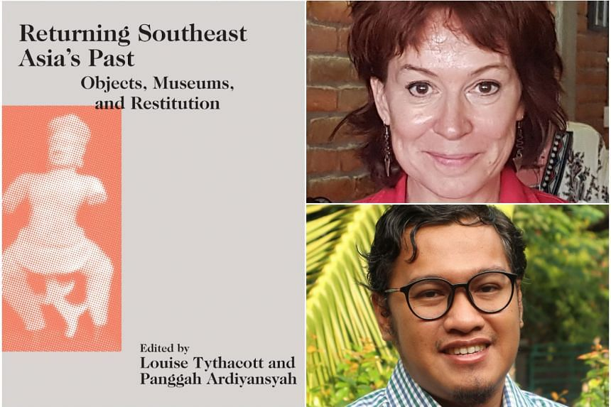 Returning Southeast Asia's Past: Objects, Museums, And Restitution, edited by Louise Tythacott (top right) and Panggah Ardiyansyah.