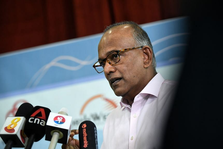 Home Affairs and Law Minister K. Shanmugam said he does not think racial harmony is under threat in Singapore.