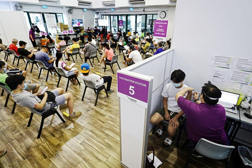 Singapore citizens in the 12 to 39 age group will have a two week priority window to book their appointments.