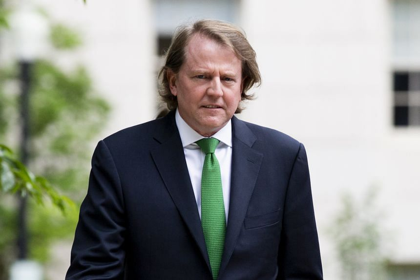 Mr Donald McGahn, who left his post in late 2018, was a key witness in Mueller's report on Russian interference in 2016.