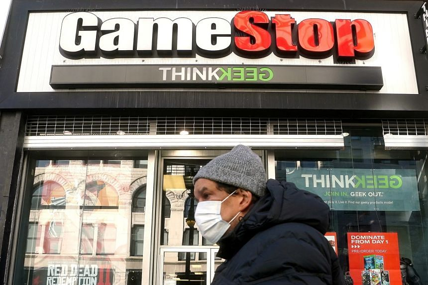 GameStop's shares have almost doubled in the past month, approaching their high in January.
