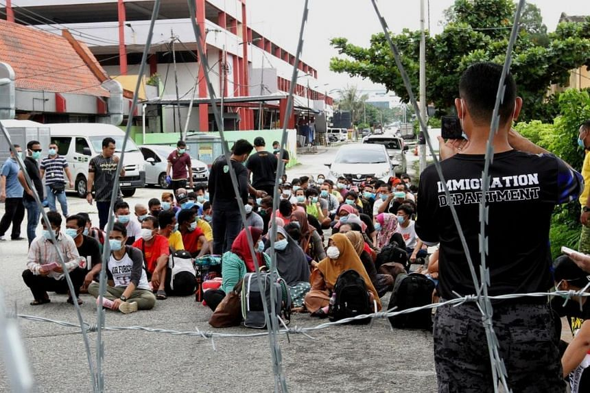 Civic groups representing migrant workers said that undocumented workers in Malaysia are now living in fear.