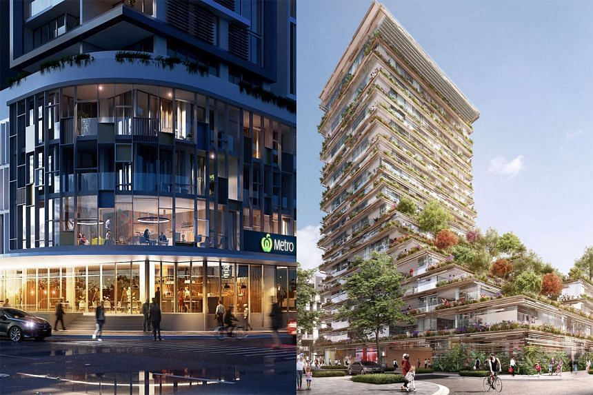NEW SOUTH WALES; Ms Lim has units at Granville Place (above left) and at Mastery, which are both in Sydney.