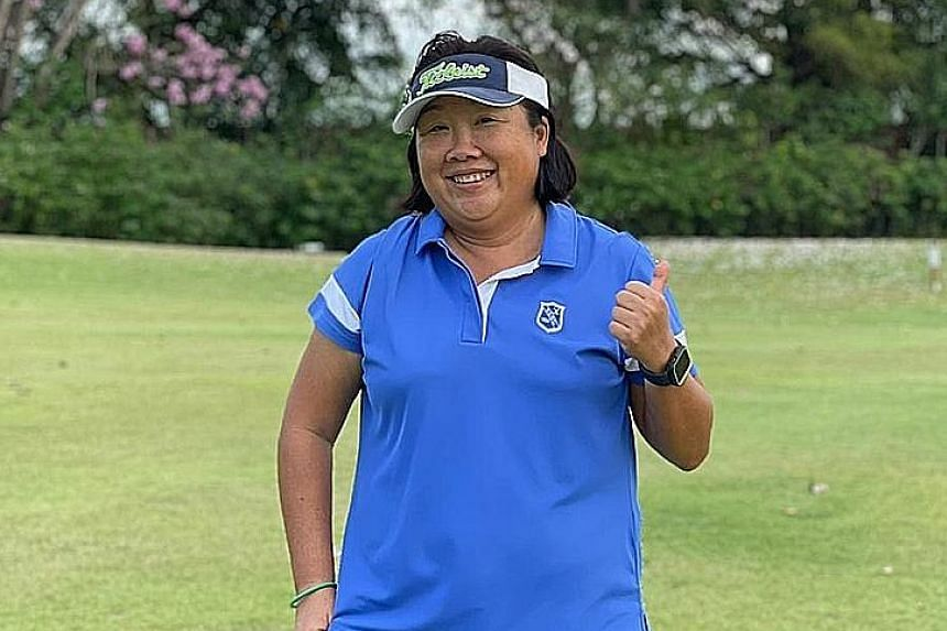 Tanah Merah Country Club's lady captain Gillian Sim believes that having more social golf events will encourage more women to play the sport.