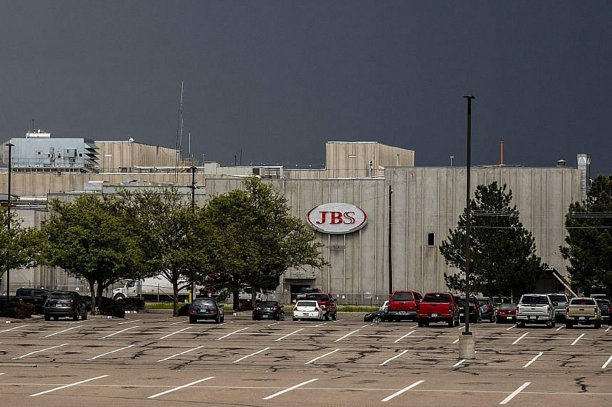 """The cyber attack disrupted JBS' operations across North America, including this plant in Colorado, and Australia. A White House National Security Council spokesman said """"private companies should not pay ransom"""" as it encourages hackers."""