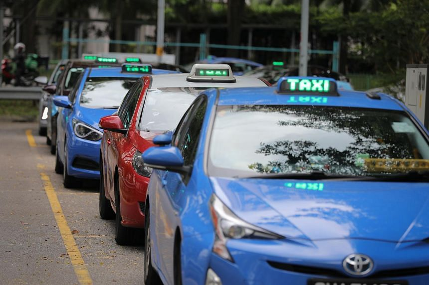 The two-passenger limit for taxis and private-hire cars will be lifted from June 14, 2021.