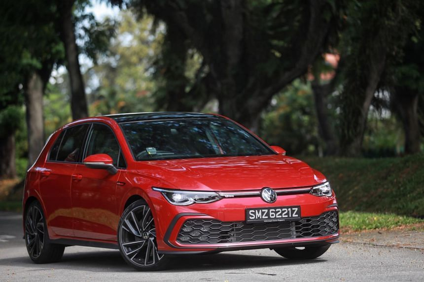 Despite being supported by a sports suspension, the Volkswagen Golf GTI  betrays less road noise than the usual Golf hatchback.
