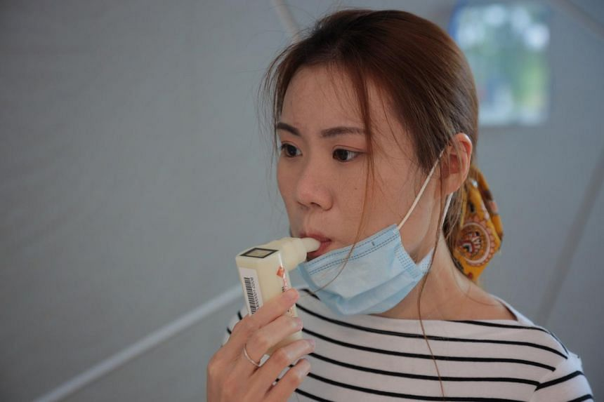 The TracieX breathalyser has a sensitivity of 95 per cent and a specificity of 97.8 per cent.