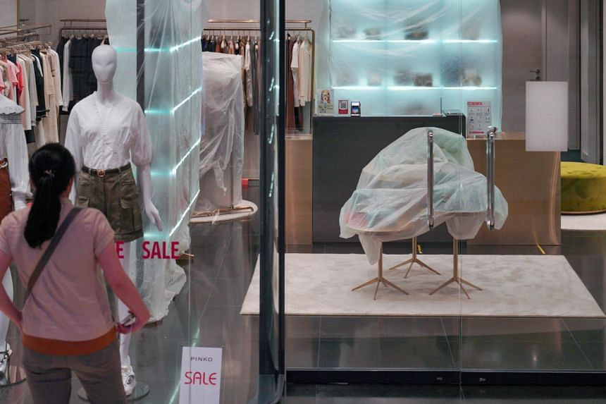 The mall and its shops are required to undergo cleansing and disinfection.