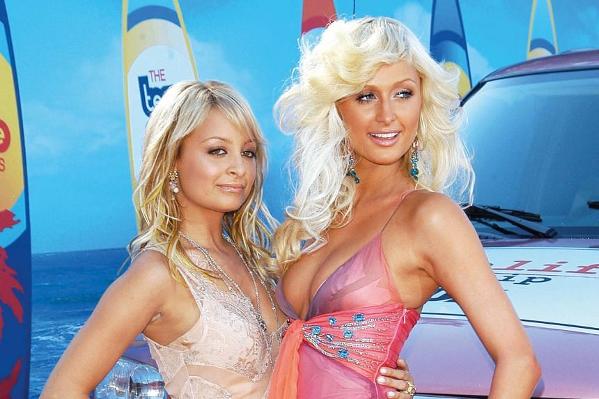 Socialites Nicole Richie (left) and Paris Hilton were among Hollywood's style influencers of the 2000s.