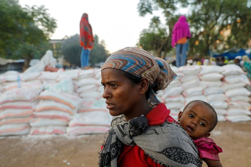 Most of the 5.5 million people in Tigray need food aid.