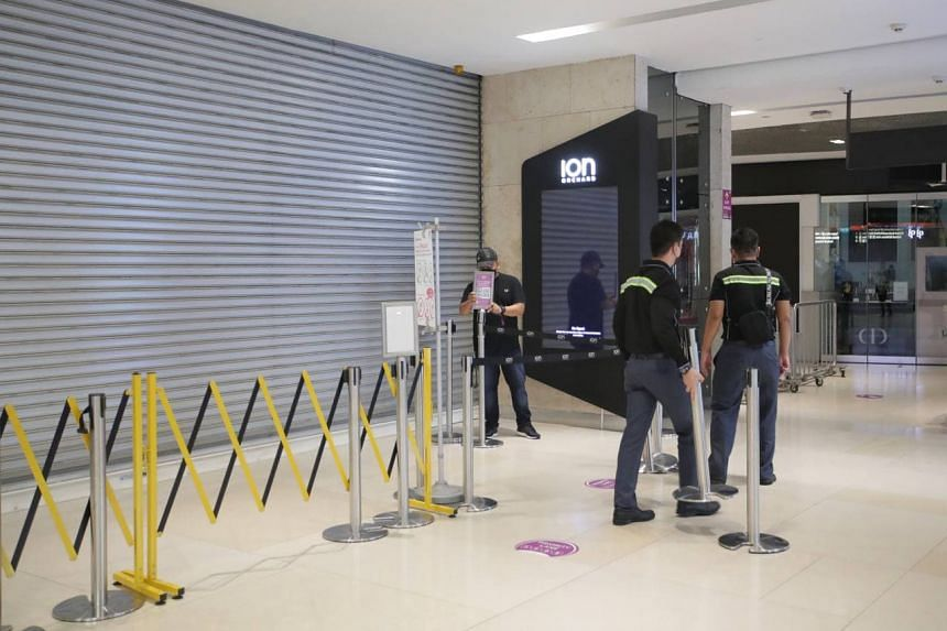 Ion Orchard is the first mall in the popular Orchard Road shopping belt to be closed amid the pandemic.