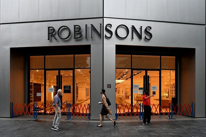 """Robinsons at Raffles City after it closed for good on Jan 9. Mr Jordan Prainito, incoming managing director of Robinsons Singapore, says: """"The brand has a rich history, and it strongly resonates with Singaporean and South-east Asian customers. It jus"""