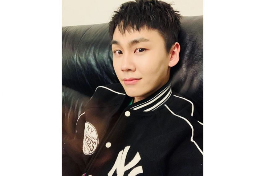 Rapper and singer Ilhoon, pictured in a selfie posted on Instagram in March last year, was a member of BtoB. He left the band in December.