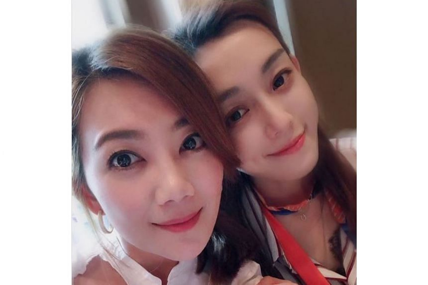 Malaysian singer Fish Leong (left) and Taiwanese singer Christine Fan.
