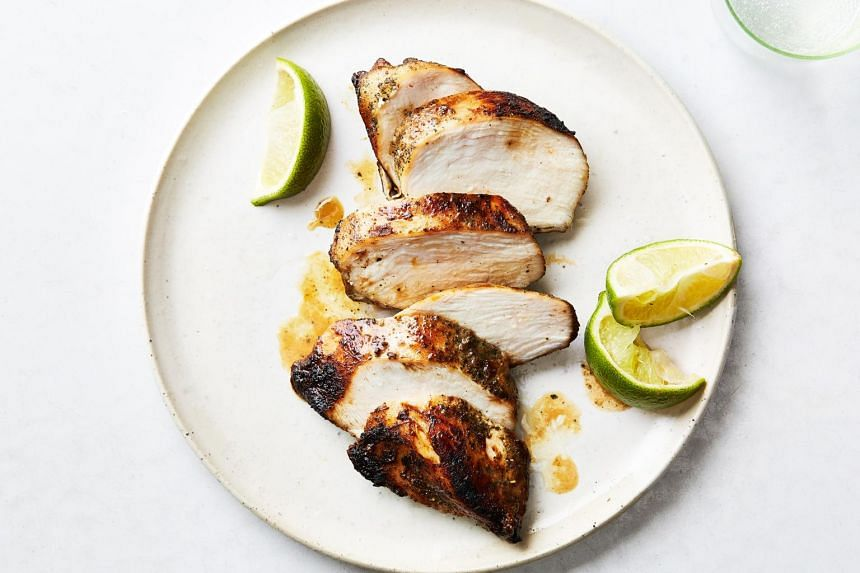 Dry-brined chicken breasts. Unlock juicier, more flavourful white meat with smart techniques.