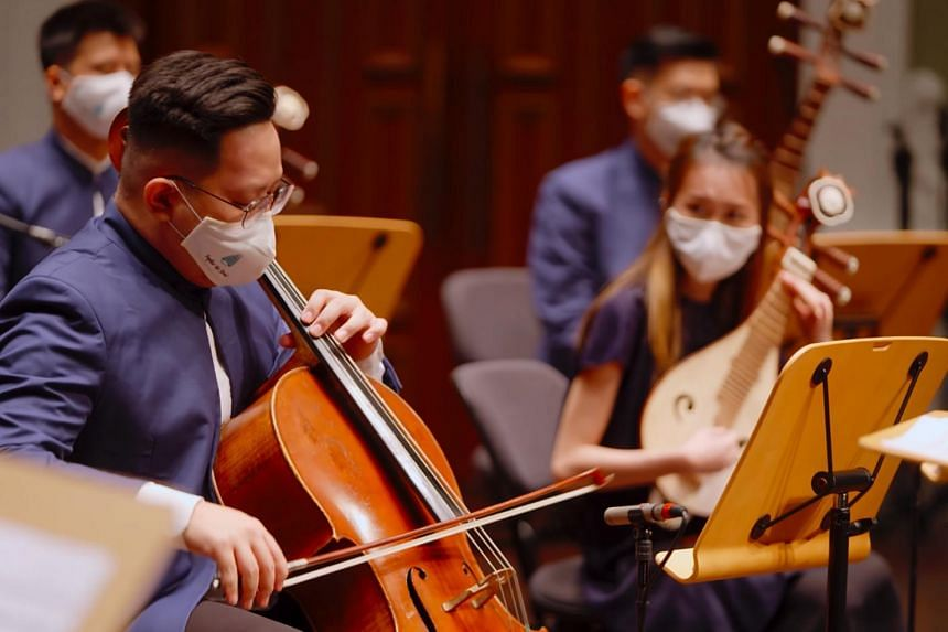 Healing Rhapsody by Ding Yi Music Company is part of the Compassion series of chamber concerts.