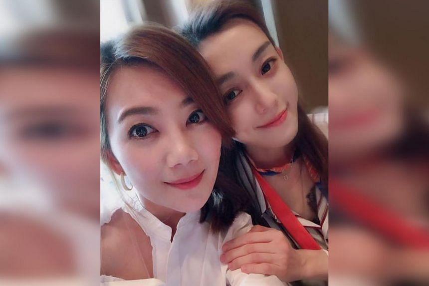 Fish Leong (left) is no longer following Christine Fan on Instagram.