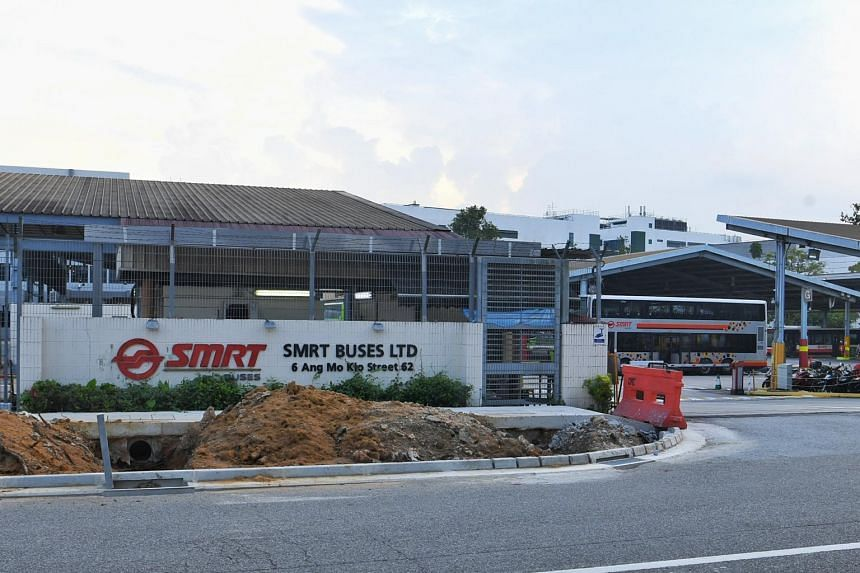 One SMRT technician was killed and another injured in an accident at the company's depot in Ang Mo Kio on June 6, 2021.