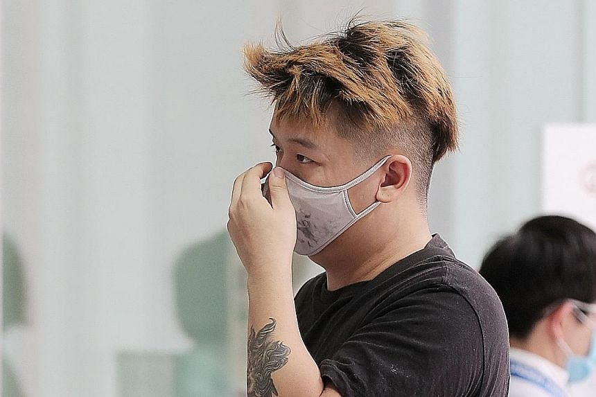 Sy Yong Da will be disqualified from holding all classes of driving licences for a period of 10 years upon his release from prison. ST PHOTO: GAVIN FOO