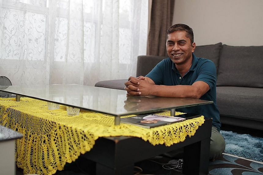 Mr Ramli Mohd Hussin upskilled and earned promotions and wage increases, but believes he has room to grow.