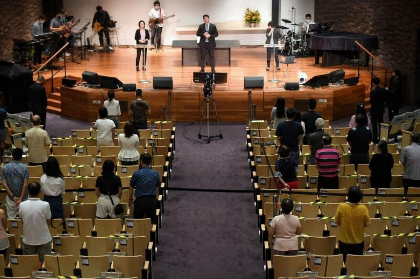 From June 14, congregational and other worship services will be capped at 50 persons without pre-event testing.