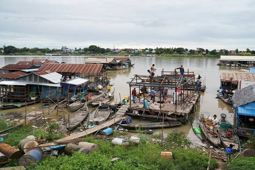 For generations, the floating wooden houseboats have been both livelihood and way of life for mostly ethnic Vietnamese families.
