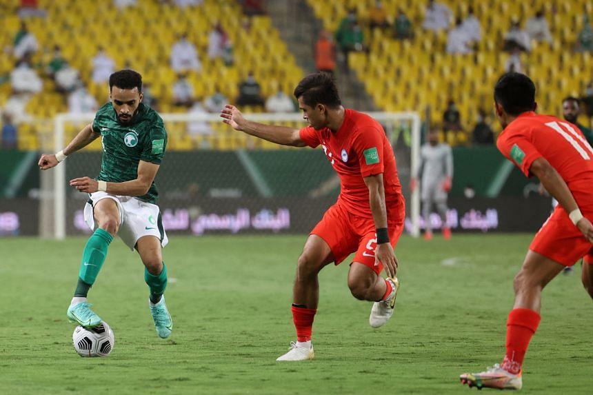 The Lions lost 3-0 to Saudi Arabia in Riyadh on June 11, 2021.