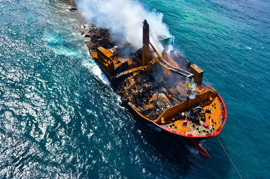 The vessel has been submerged in seas off Colombo since June 2.