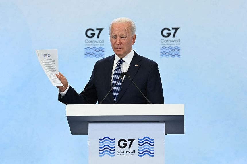 US President Joe Biden said he had ordered aides to find answers to the origin of the virus in May.