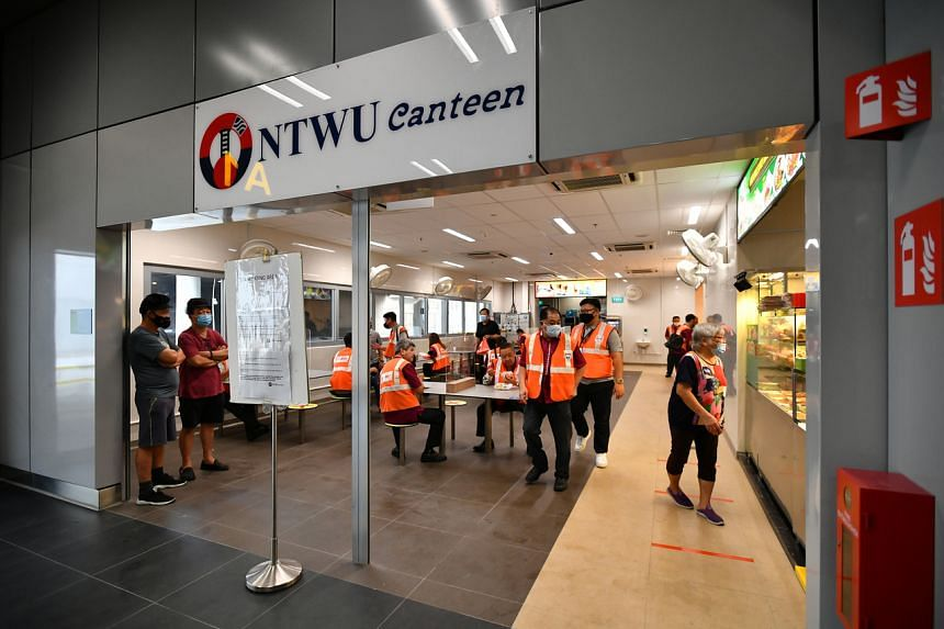 The ITH also comes with upgraded amenities for transport workers, such as an air-conditioned staff canteen, dedicated staff toilets, a cleaners' room and a staff lounge.
