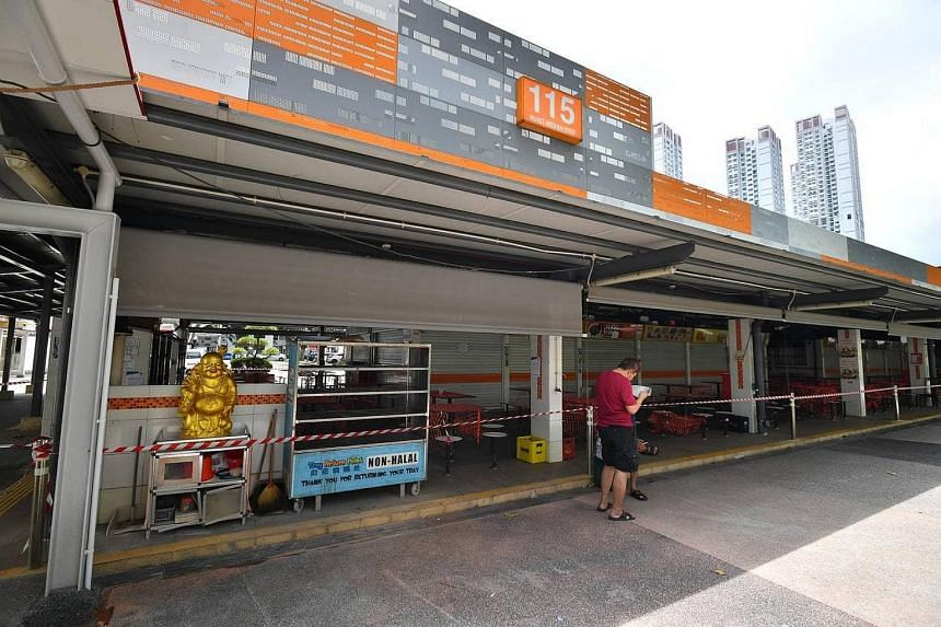 115 Bukit Merah View Market and Hawker Centre closes for cleaning from Sunday to Tuesday.