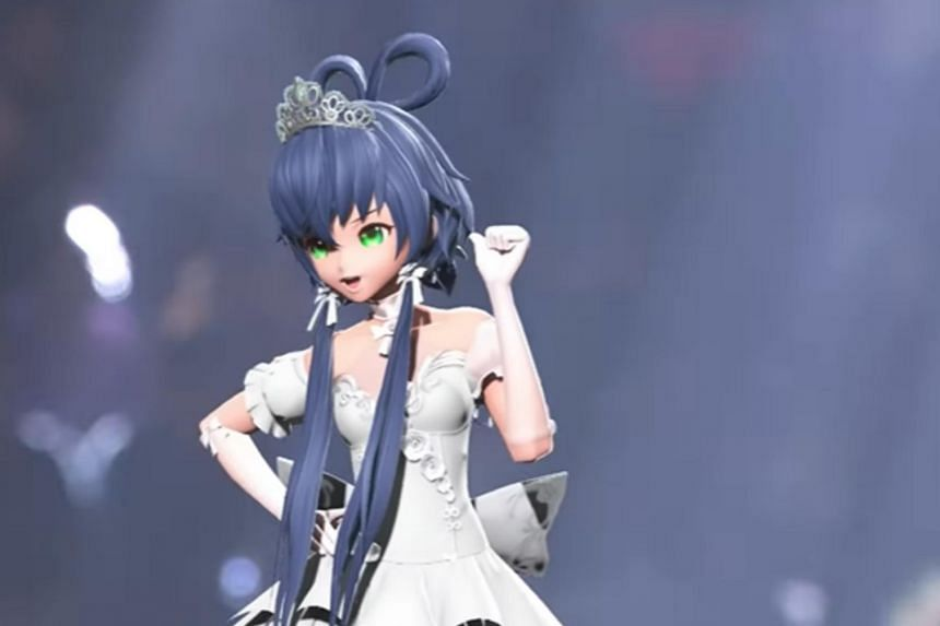 Luo Tianyi is a Mandarin-speaking vocaloid whose concerts sell out in minutes.
