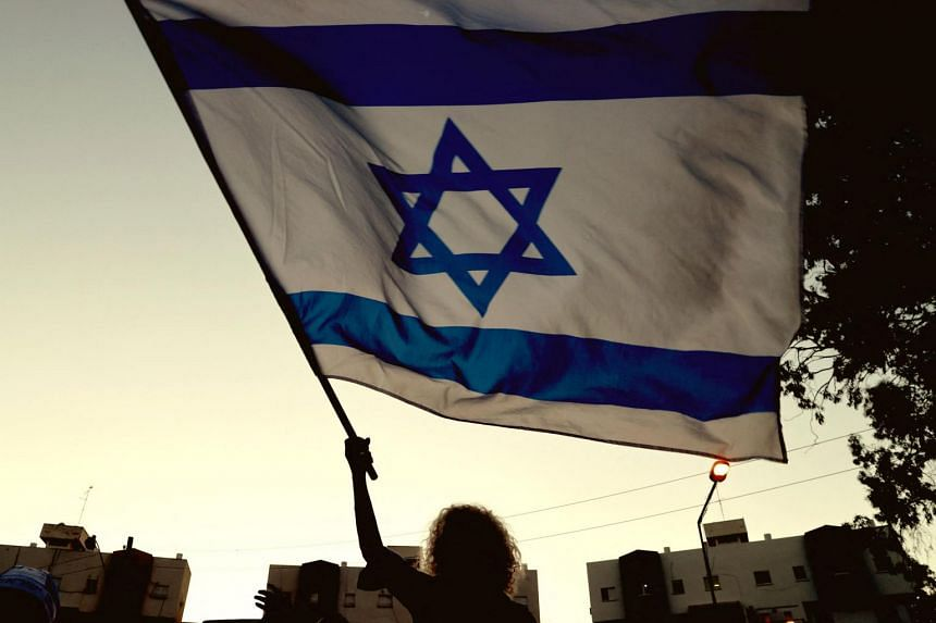 The political drama has solicited barely a shrug from Israel's Arab neighbours.