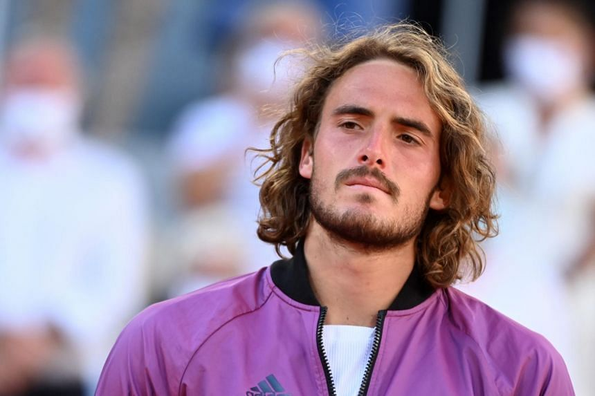 Stefanos Tsitsipas said there are more important things in life than winning trophies.