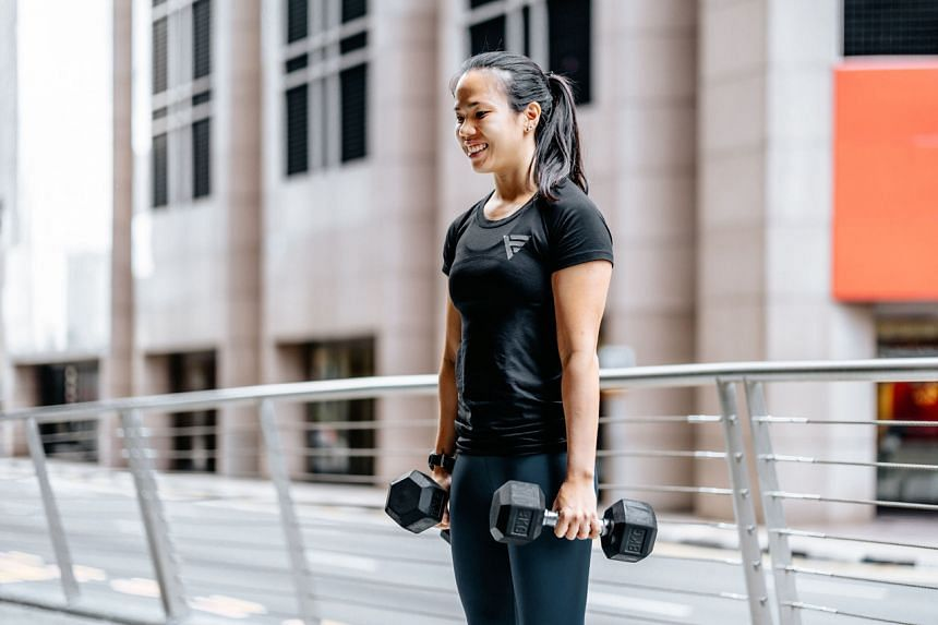 Ms Hannah Ko is a personal trainer and group fitness instructor at Level Gym.