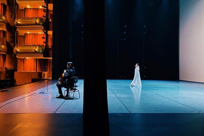 Meditation by Janek Schergen in The Rhythm Of Us at Singapore International Festival of Arts.