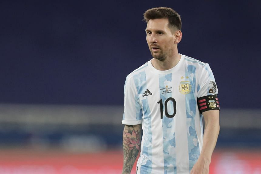 Lionel Messi's magical left foot gave dominant Argentina a deserved first-half lead.
