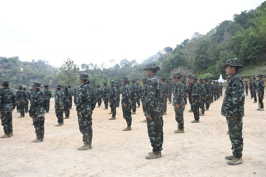 Militias have for weeks been ambushing security forces in Myanmar's border regions.